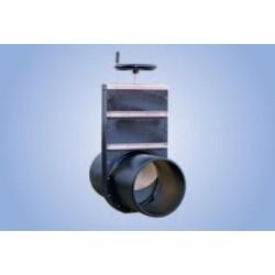 Vanne guillotine RVM-TG-PEHD/1.4404 (A4)