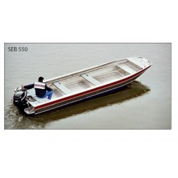 Barges aluminium à fond plat