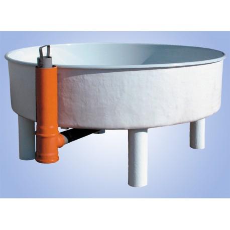 Tanques circulares de fibra de vidrio para la acuicultura for Tanques circulares para acuicultura