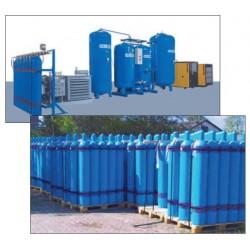 Stations de remplissage de bouteilles d'oxygène
