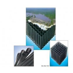 Substrats pour biofiltres et unités de dégazage