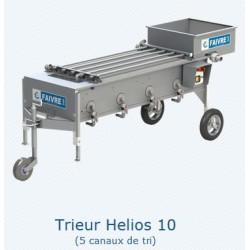 Clasificadores para freír Helios 10, y Helios 100