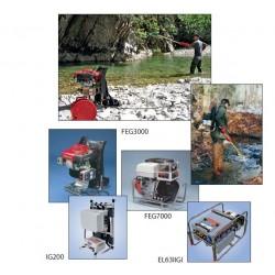 Appareils de pêche électrique