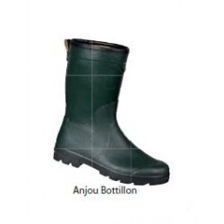 Botte en caoutchouc naturel - Anjou Bottillon Jersey