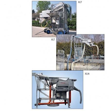 Pompes à poissons avec système de pesage combiné