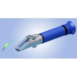 Refractomètre avec compensation de température